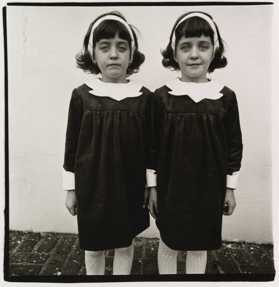 Identical twins, Roselle, NJ 1967