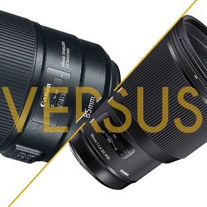 Duel - Canon EF 85 mm f/1,4 L IS USM VS Sigma Art 85 mm f/1,4 DG HSM