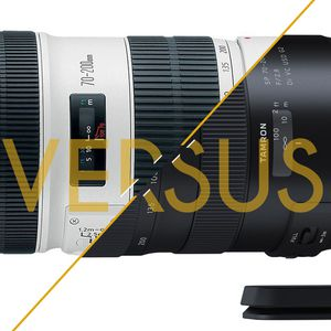 70-200 mm f/2,8 Canon L IS USM II vs Tamron SP Di VC USD G2