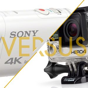 Duel - Gopro Hero4 Black vs Sony Action Cam FDR-X1000