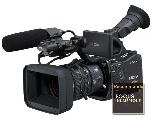 Sony HVR Z7 test review recommande