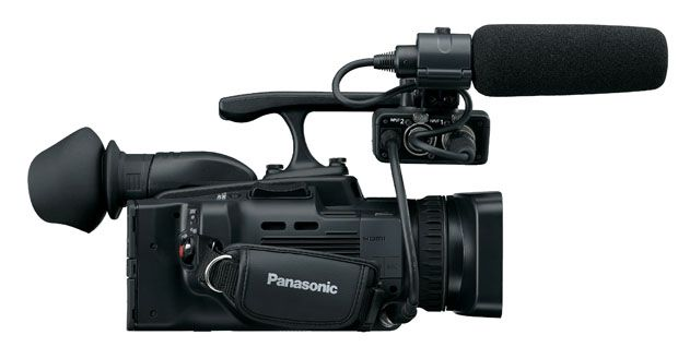 Panasonic AG-HMC41 latéral test review