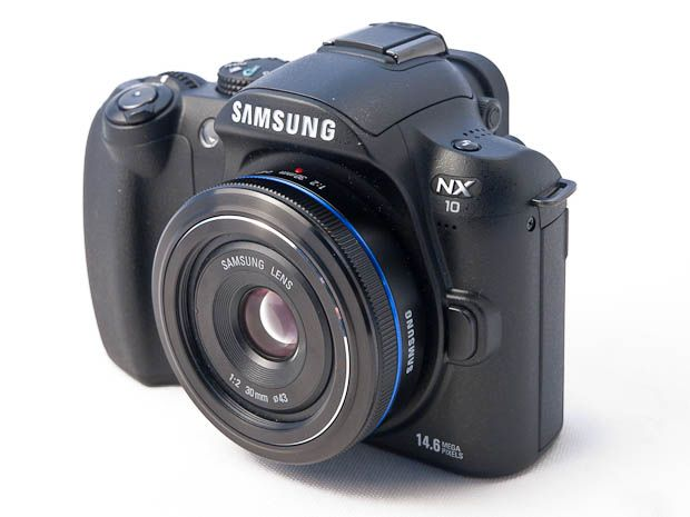 Samsung NX10 test review