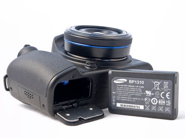 Samsung NX 10 test review batterie
