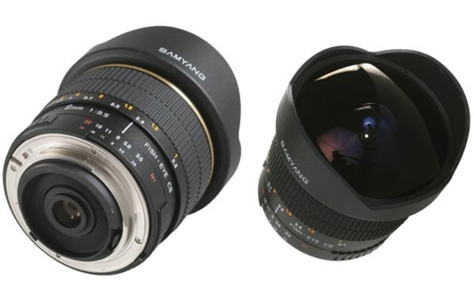 8mm f/3,5 aspherical IF MC Fisheye
