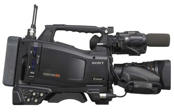 Sony PMW-350 test review