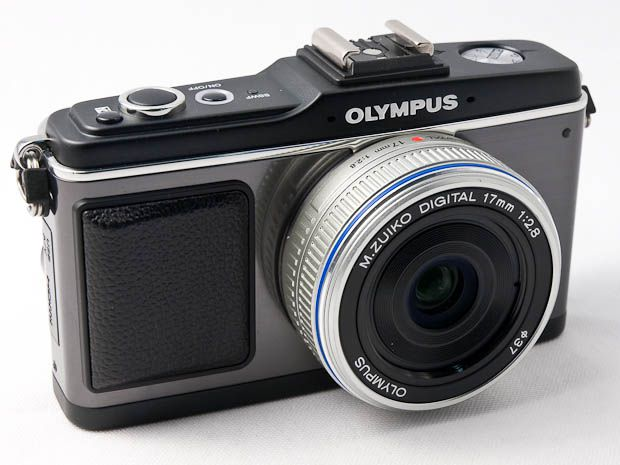 Olympus Pen E-P2 test review prise en main