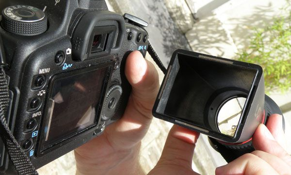 LCD View Finder test review