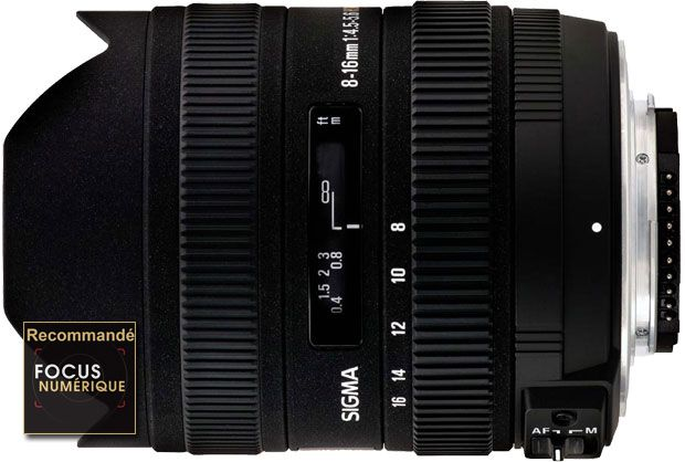 Sigma 8-16 mm f/4,5-5,6 DC HSM test review recommandé