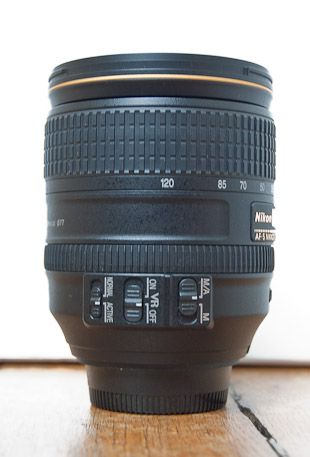 Nikon 24-120 mm f/4 test review commandes