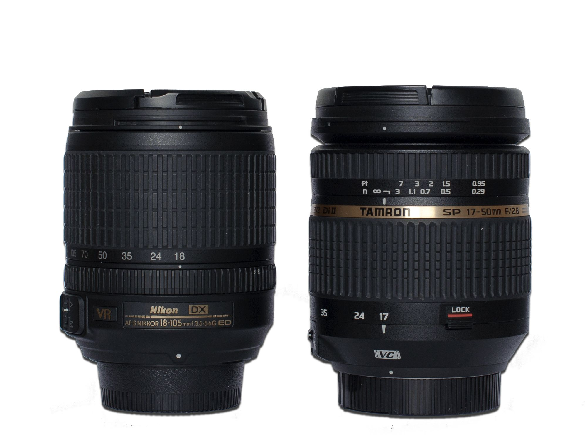 Tamron 17-50 mm f/2,8 XR Di II VC test review