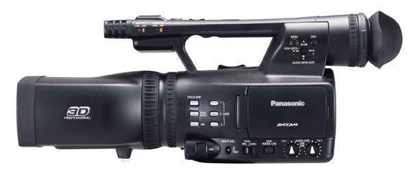 Panasonic AG-3DA1 test review avis
