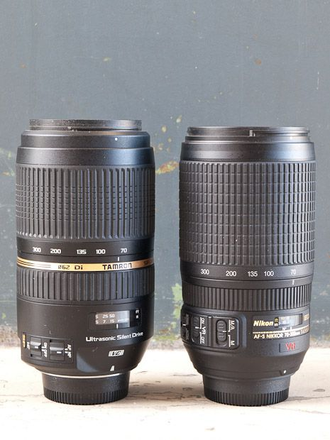 70-300 mm f/4-5,6 VC USD test review face au Nikon équivalent