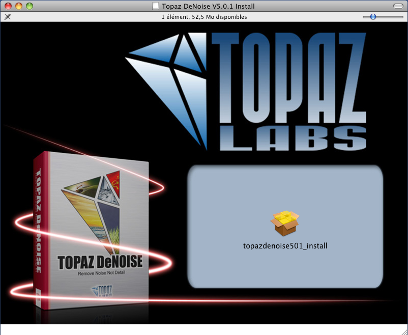 Topaz DeNoise test review avis exemple pratique tutoriel