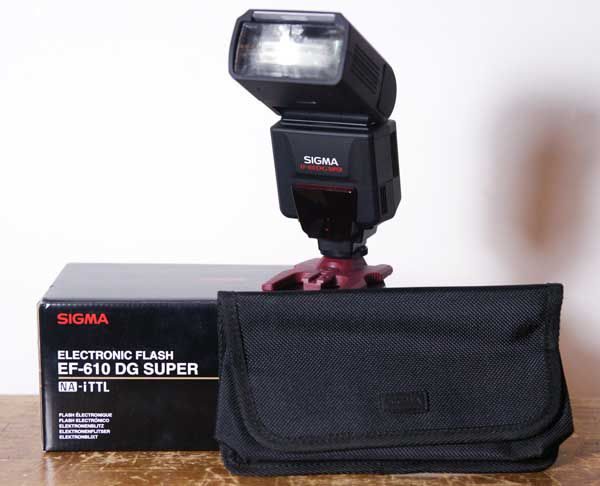 Sigma EF 610 DG Super test review housse
