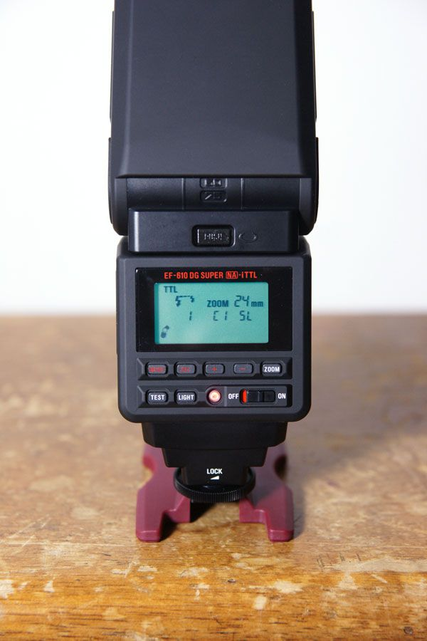 Sigma EF 610 DG Super test review interface