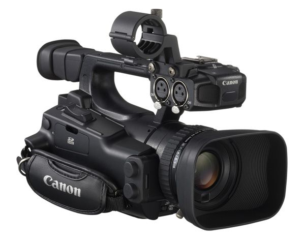 Canon XF105 test review avis