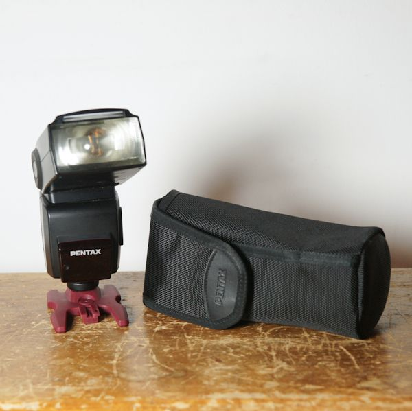 Pentax Flash AF 540 FGZ test review housse