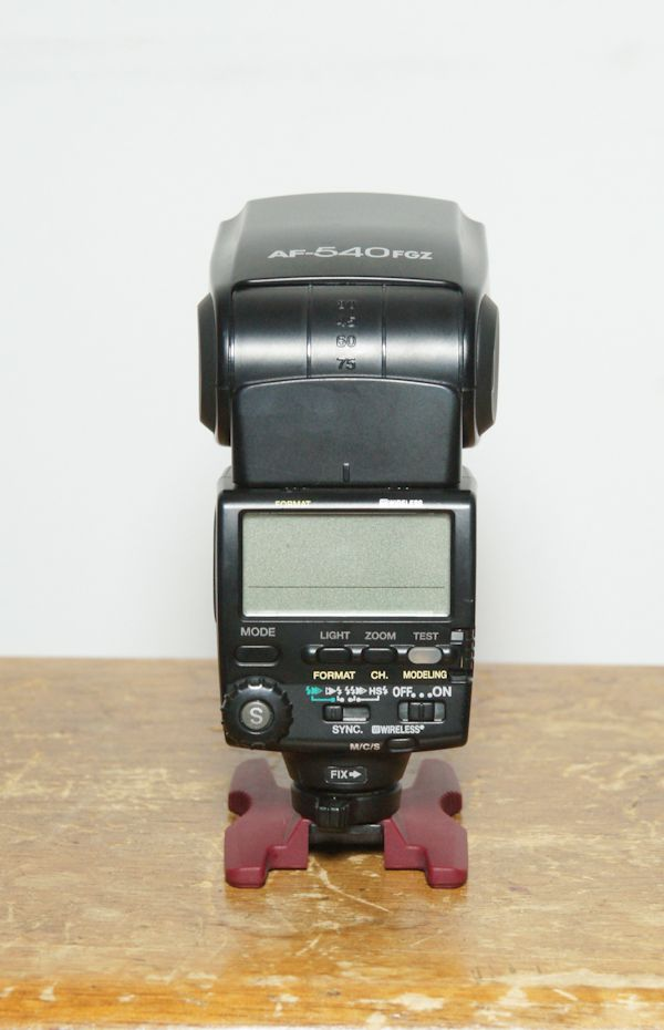 Pentax Flash AF 540 FGZ test review dos