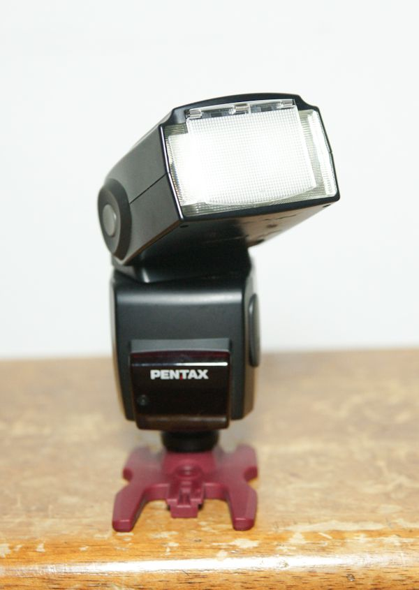 Pentax Flash AF 540 FGZ test review diffuseur