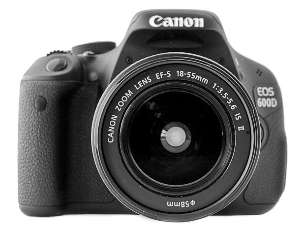 Canon 600D test review prise en mains objectif 18-55 mm f/3,5-5,6 IS II