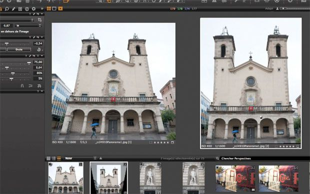 Capture One Pro 6 tutoriel redresser les perspectives