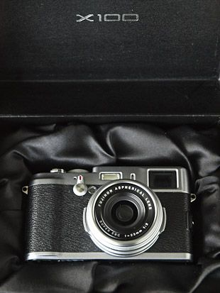 fujifilm x100 test review boite