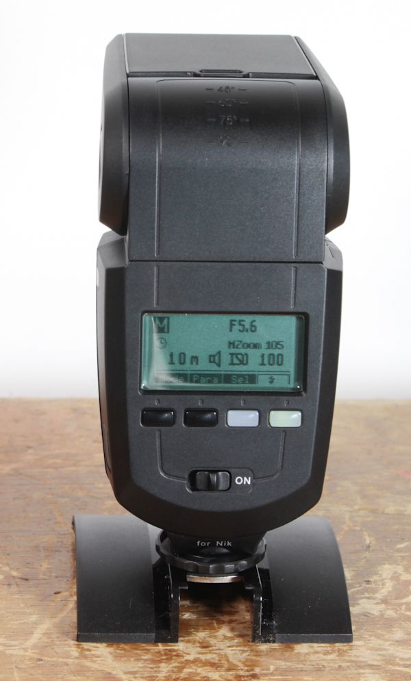 Metz Mecablitz 58 AF-2 test review interface