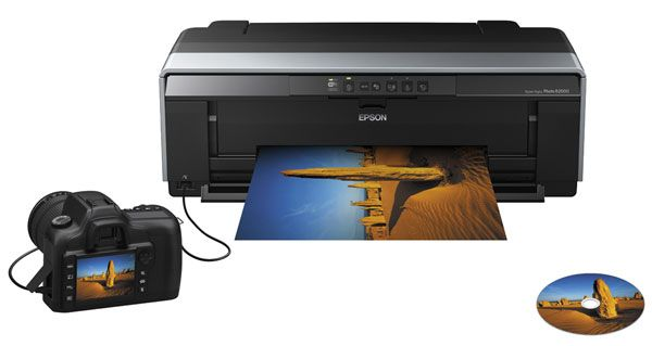 Epson R2000 test review imprimante A3+ liaison pictbridge