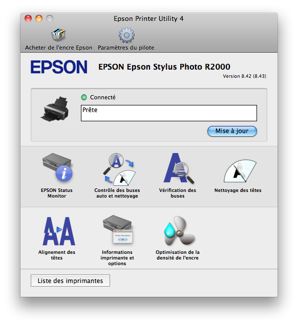 epson r2000 test review chargeur epson printer utility 4