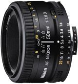 Nikkor 50 mm f/1,8D test review