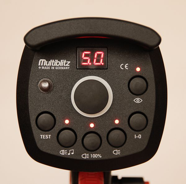 Multiblitz Profilux Eco 500 test reviews interface