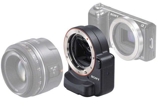 Sony NEX-5N test review bague adaptation alpha