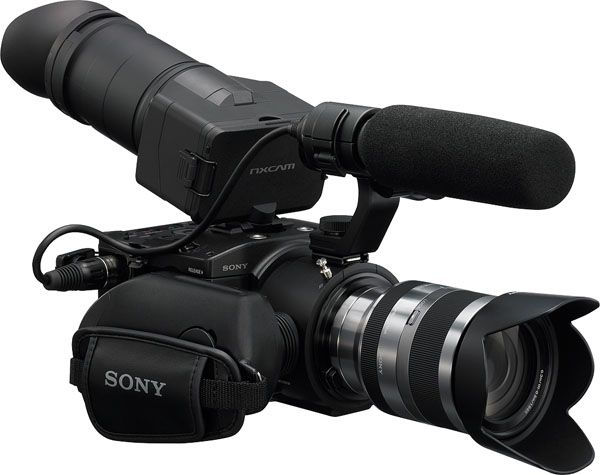 Sony FS100 test review avis