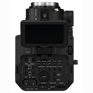 Sony FS100 test review avis interface