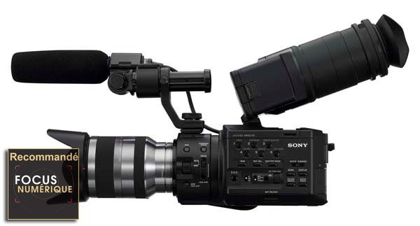 Sony FS100 test review recommandé