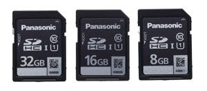 Panasonic AG-160 test review : utilisation des cartes SD