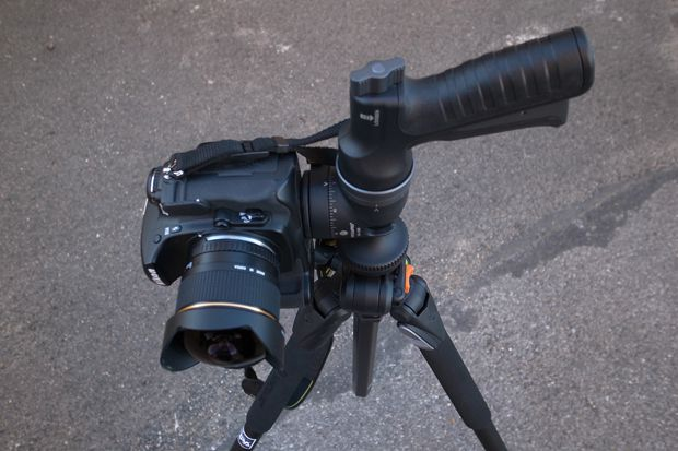 Vanguard rotule GH100 test review position verticale
