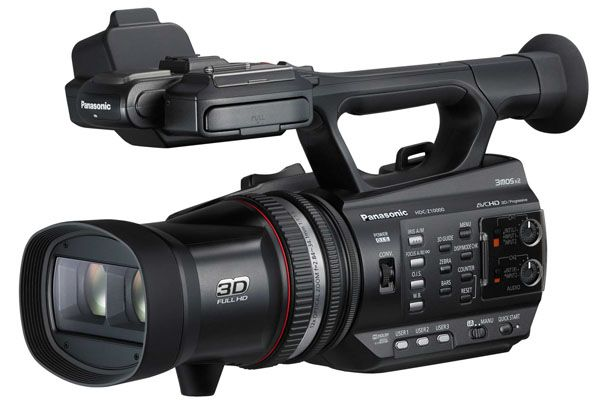 Panasonic HDC-Z10000 test review avis