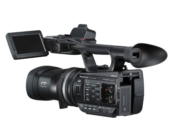 Panasonic HDC-Z10000 test review vue interface
