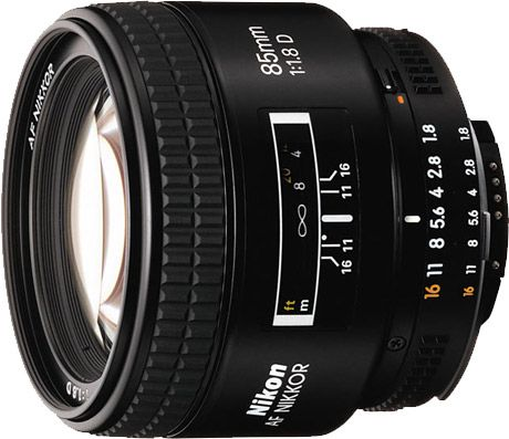 Nikkor 85 mm f/1,8D test review