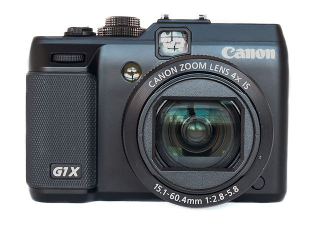 Canon G1 X test review prise en mains vue de face