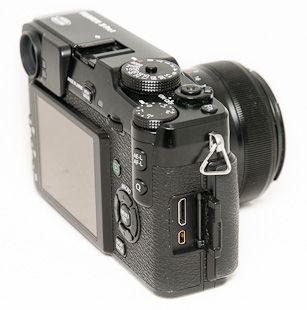 Fujifilm X-Pro1 test review connectique