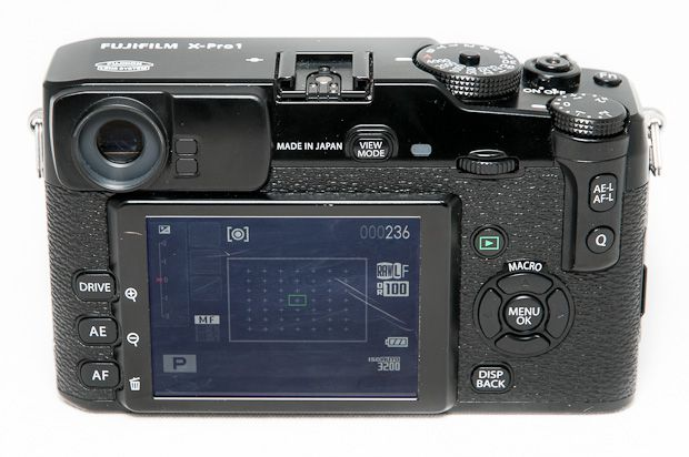Fujifilm X-Pro1 test review dos interface