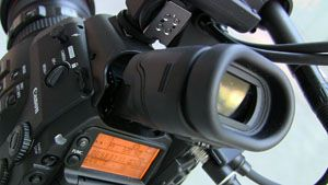 Canon C300 test review viseur inclinable