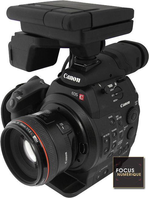 Canon C300 test review recommandé