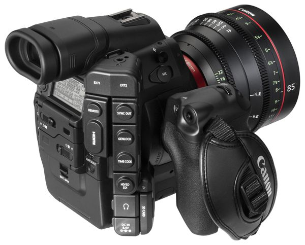 Canon C300 test review