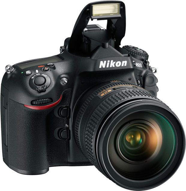 Nikon D800 flash pop-up