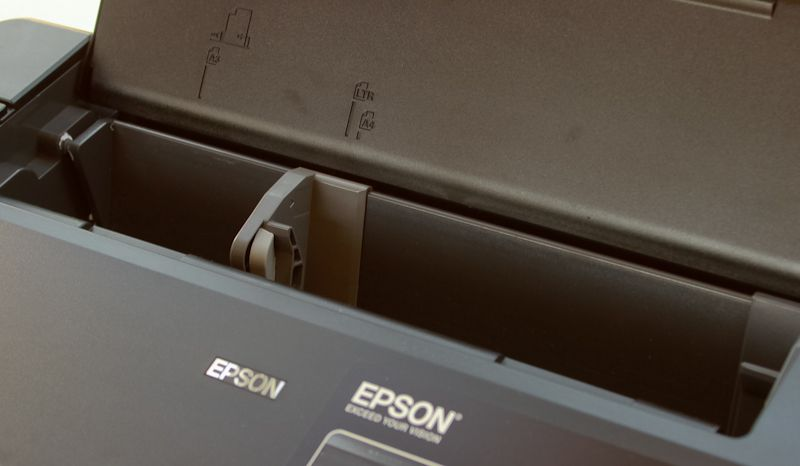 Epson Stylus Photo 1500W : papier