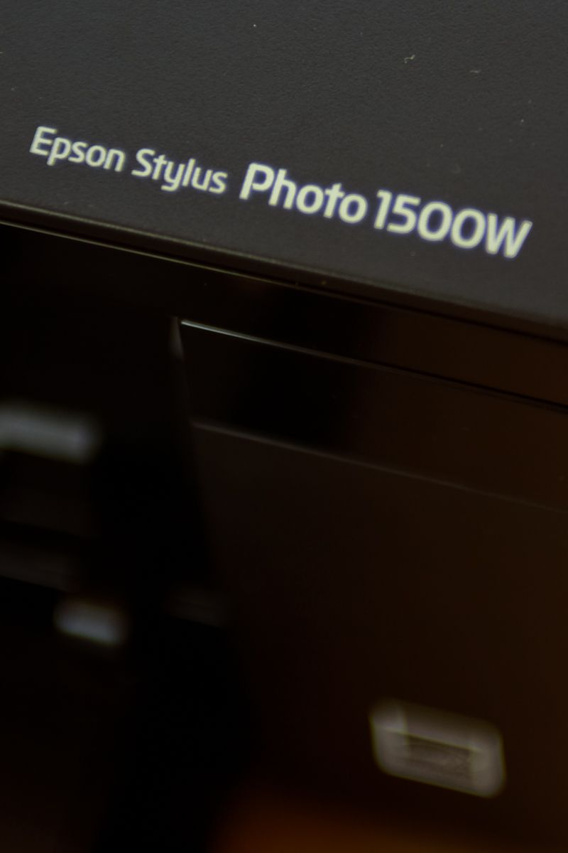 Epson Stylus Photo 1500W : détail